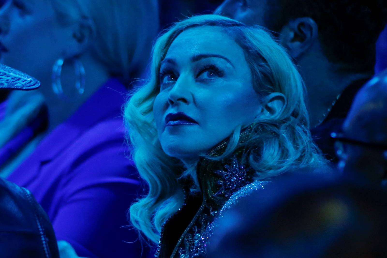 Singer Madonna attends the 30th annual GLAAD awards ceremony in New York City, New York