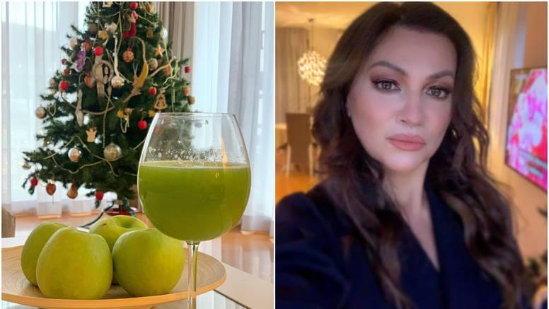 Nina Badrić pokazala dio doma, pažnju 'ukralo' božićno drvce...