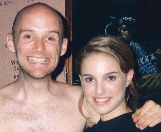 Moby i Natalie Portman