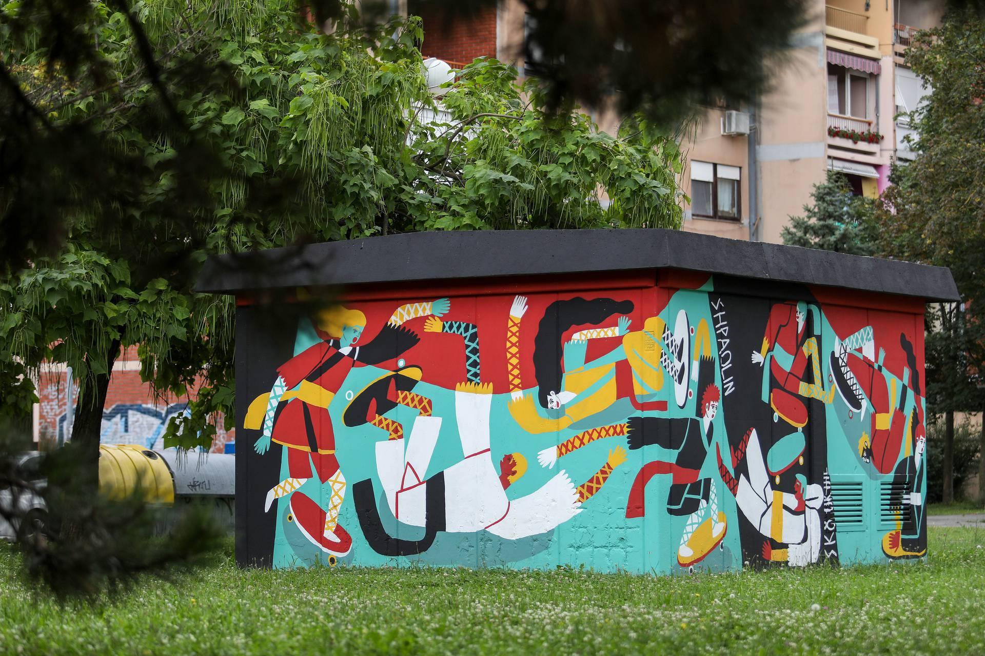 Trafostanice su ukrasili murali raznih akademskih umjetnika