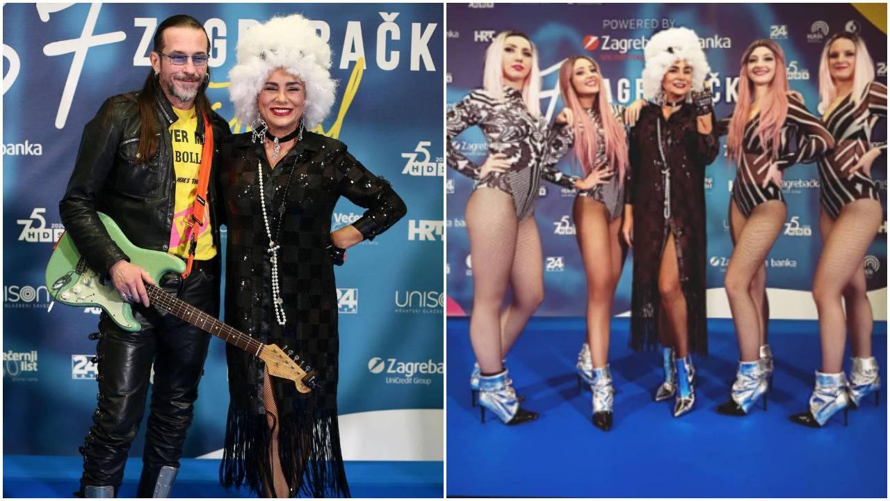 Alka Vuica 'zapalila' pozornicu: 'Izgledaš kao svjetska zvijezda'