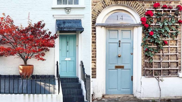 Ulazna vrata će istaknuti dom: Osvježite ih uz cvijeće ili biljke