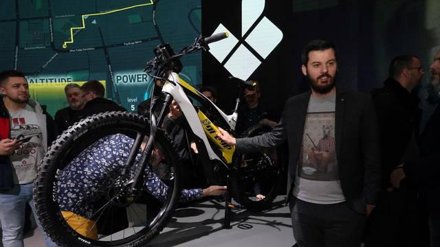 Zagreb: Mate Rimac predstavio novi električni bicikl Greyp G6