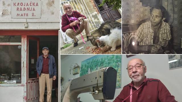 Krojača Matu Ž. vole Zadrani, ali i mace koje redovito hrani