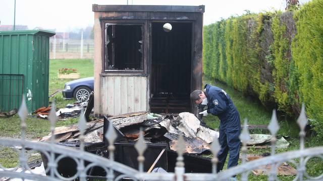 Zagreb: U požaru stambenog kontejnera u Hrašću smrtno stradala jedna osoba