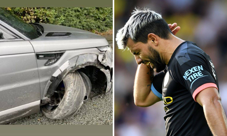 Aguero bacio 174.000 eura u vjetar: Slupao Rover u nesreći