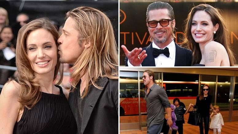 Pokušavaju se razvesti već pet godina: Angelina optužila Brada da je zlostavljao sina Maddoxa