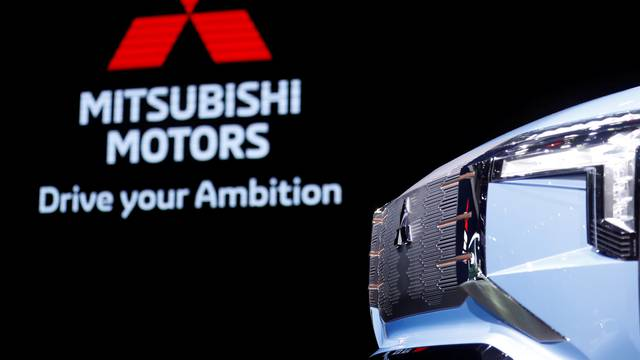 FILE PHOTO: Mitsubishi Mi-Tech concept car is seen in Tokyo Motor Show in Tokyo