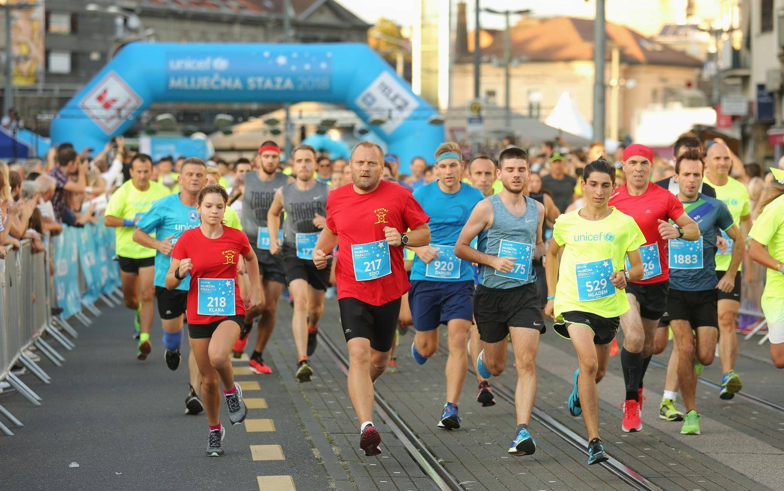 Zagreb: UNICEF-ova humanitarna utrka Mliječna staza 2018. za odrasle sudionike