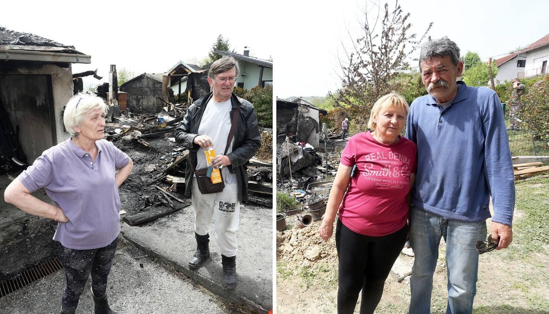 'Nama i susjedima izgorjele su kuće. Još imamo kredit na nju'