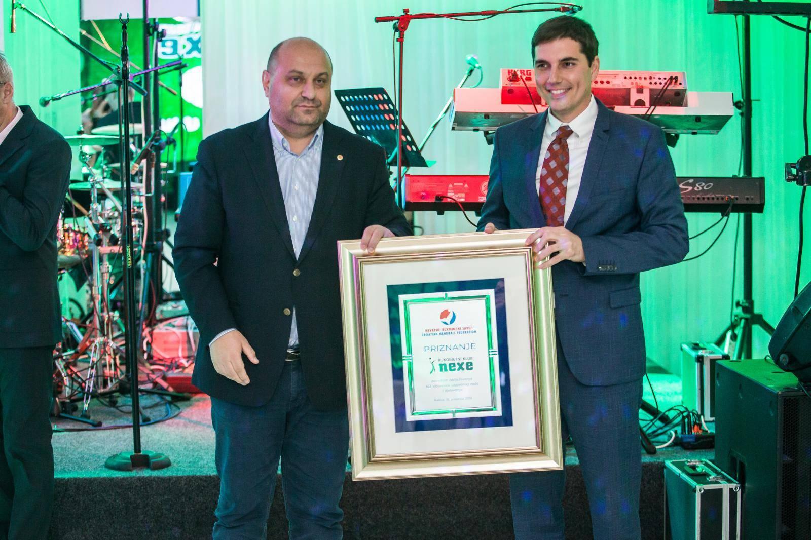 Našice: Proslava 60 godina postojanja rukometnog kluba Nexe