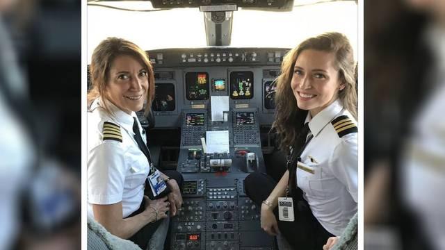 Samo ženska posada: Majka i kćer zajedno u pilotskoj kabini