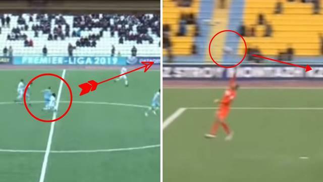 Majstorija bivšeg hajdukovca: Tomasov je zabio gol s centra