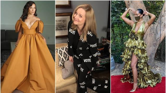Moda u doba korone: Raskošne haljine, raščupana kosa i maska