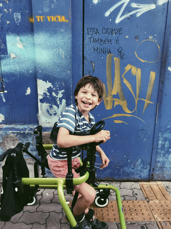 Dječak (7) ostvario životni san: Skejtao je unatoč teškoj bolesti