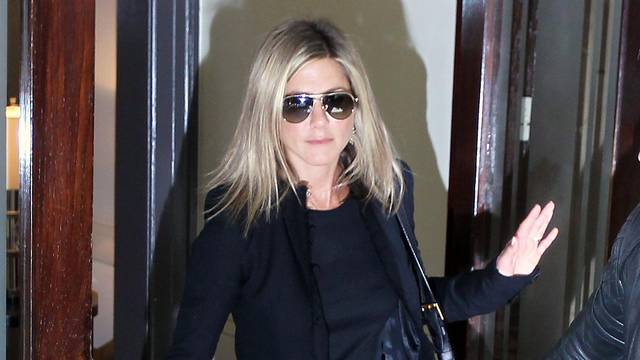 Jennifer Aniston and boyfriend out in New York