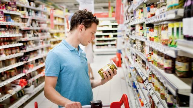 Man,In,Supermarket,,Grocery,Store,Customer