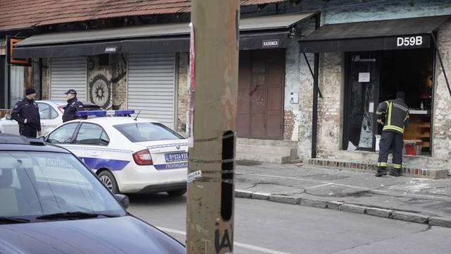Beograd: Bačena bomba na kafić u Dobračinoj ulici