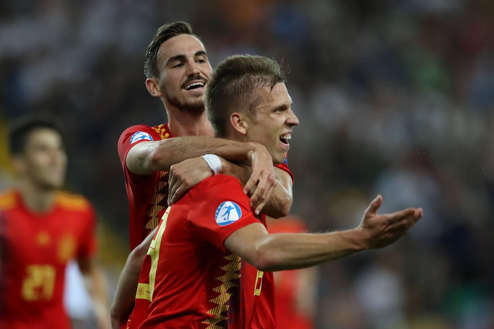 Spain U21 v Germany U21 - UEFA European Under-21 Championship - Final - Stadio Friuli