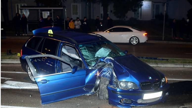 Opasna jurnjava u Puli: Jedan ozlijeđen u sudaru dva auta