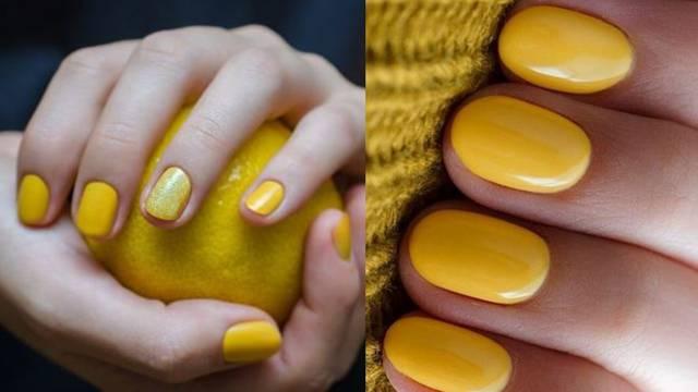10 divnih manikura u boji sunca