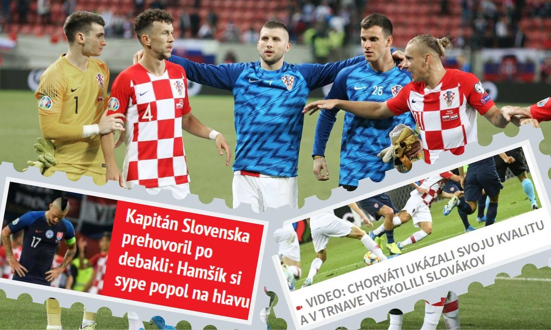 Slovački mediji: Hrvati su nas učili nogometu, pomeli su naše