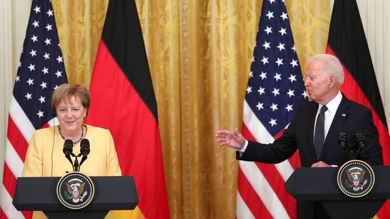 Merkel i Biden obećali usku suradnju u krizi u Afganistanu