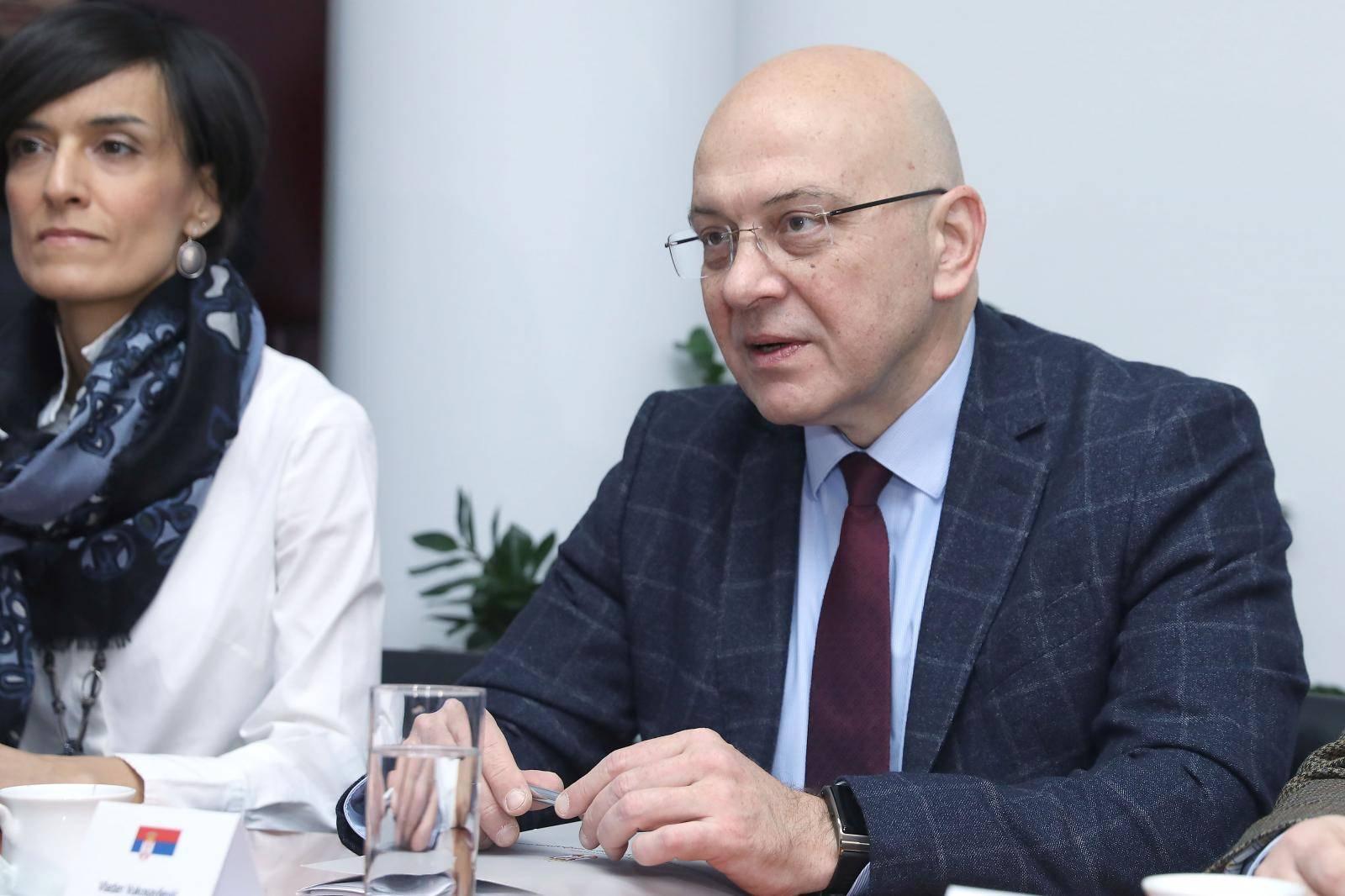 Zagreb: Bandić ugostio ministra kulture Republike Srbije