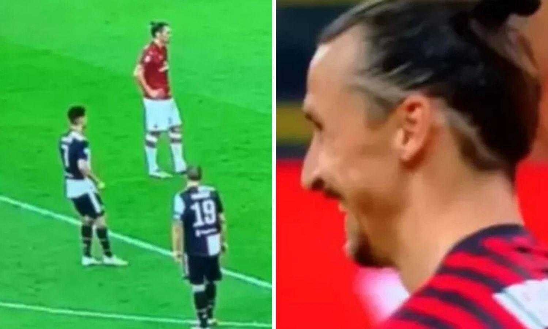 Ronaldo pokušao isprovocirati Zlatana, a ovaj ga prostrijelio ledenim pogledom i zabio...