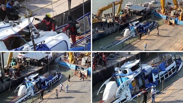 Iz Dunava izvukli brod smrti: U njemu našli skipera i troje ljudi