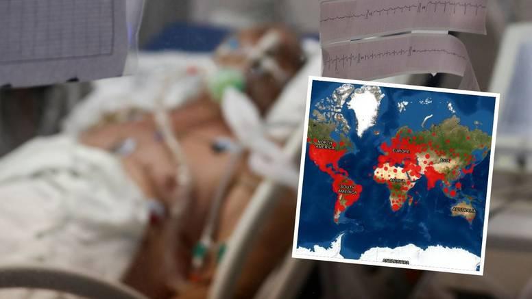 Korona divlja unatoč cjepivu: U zadnjih 7 dana u svijetu najviše zaraženih od starta pandemije!