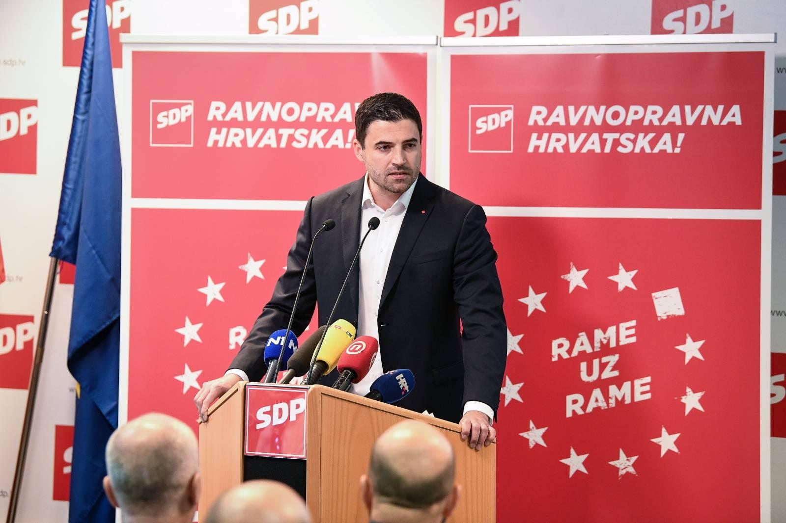 Zagreb: Sjednica glavnog odbora SDP-a