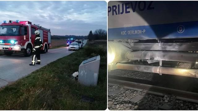 Zapalio se vlak kraj Varaždina:  Vatru ugasio strojovođa,  50-ak putnika sigurno prevezeno dalje