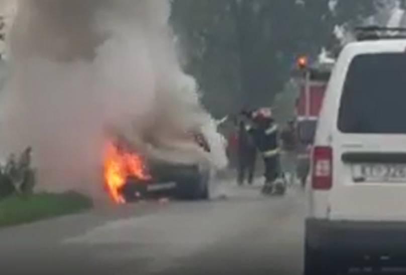 'Vidio sam kako vatra guta auto, ljudi su izašli na vrijeme'