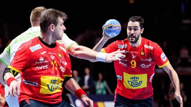 2020 European Handball Championship - Semi final - Spain v Slovenia