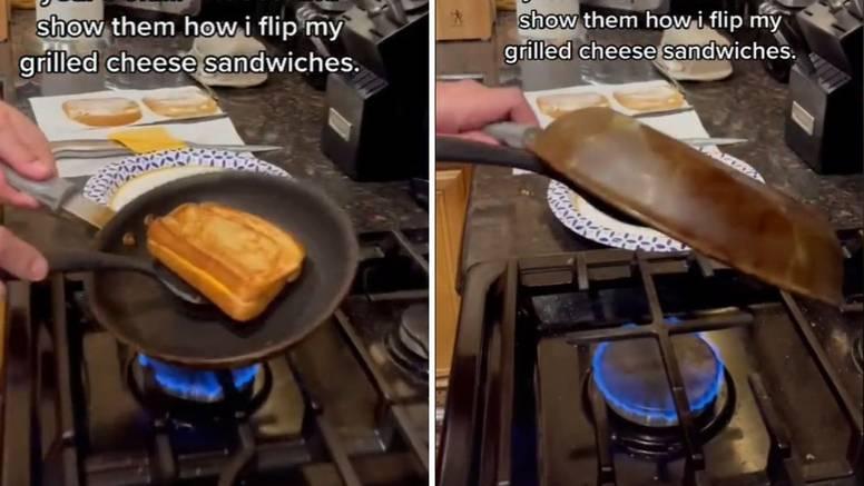 Fantastičan način za prevrtanje sendviča sa sirom na tavi: Prejednostavno, a otkriće!