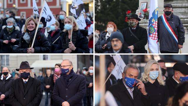 Ministar Grlić-Radman i Bandić na masovnom okupljanju kod katedrale zbog misnog slavlja