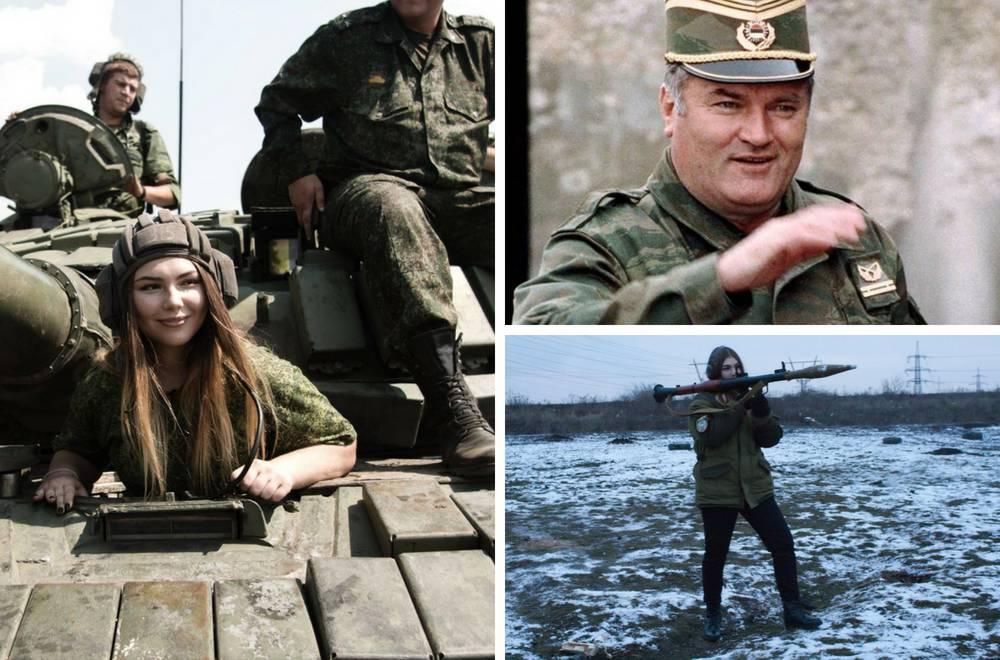 Vozi tenk, voli oružje i Mladića: 'Obećala sam mu da ću doći...'