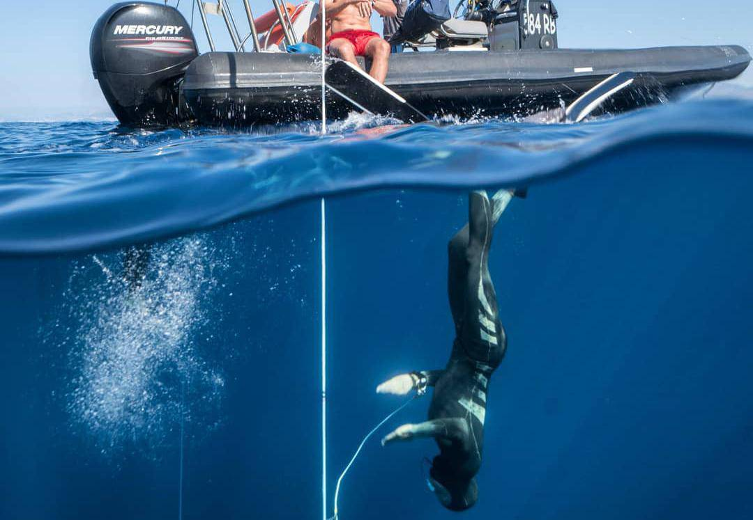 Bravo! Hrvat je postavio novi AIDA rekord u ronjenju na dah