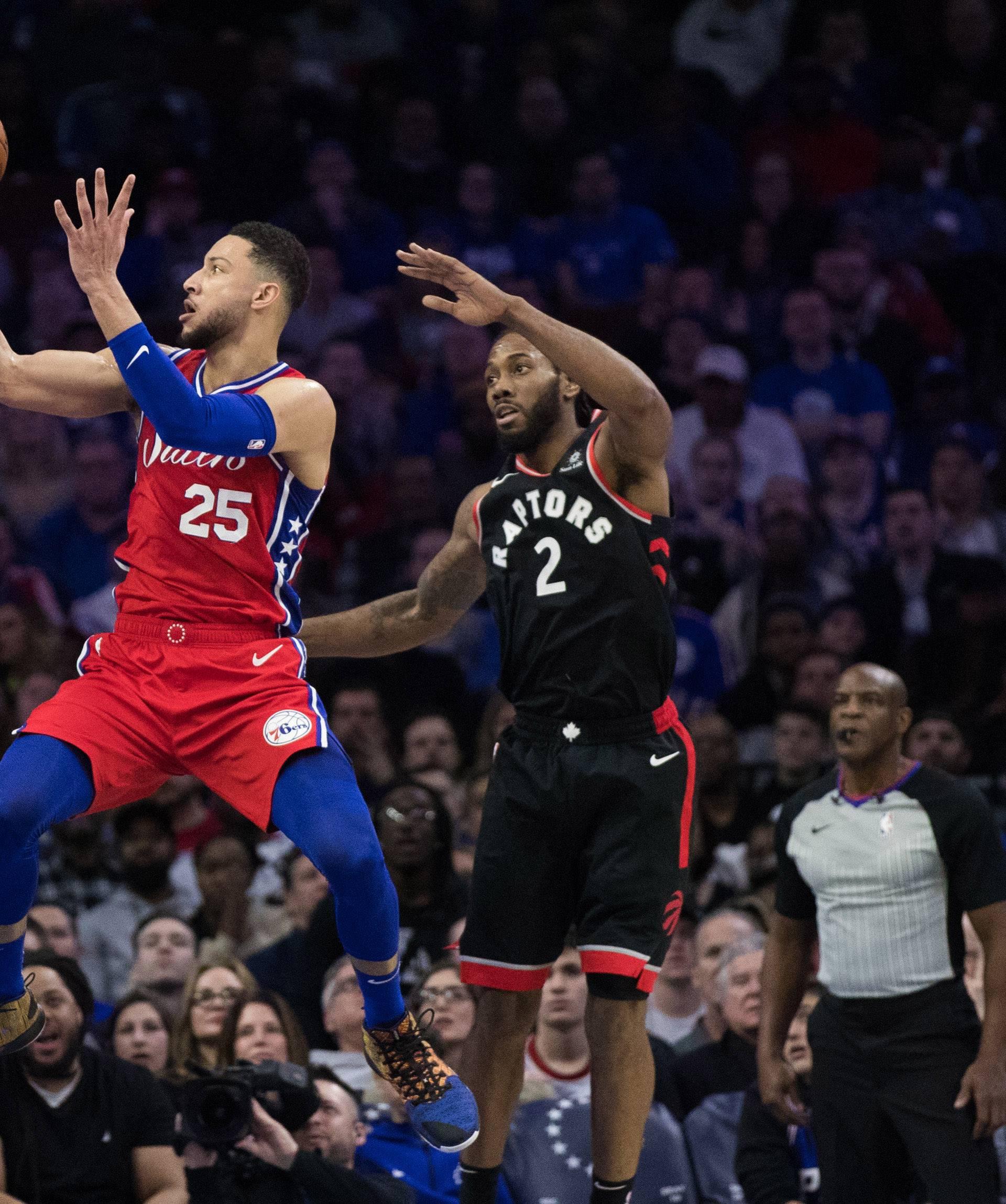 NBA: Toronto Raptors at Philadelphia 76ers