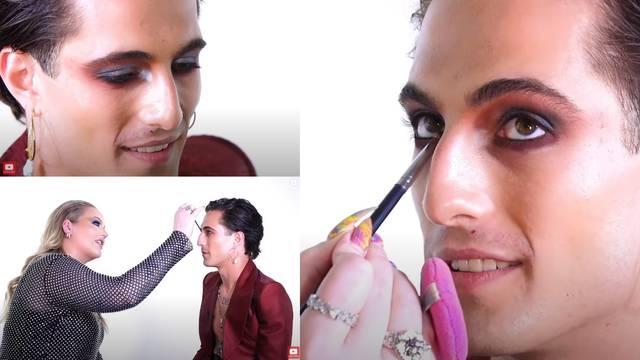 Voditeljica Eurosonga Nikkie uredila je Damiana: 'Na početku su mi se smijali zbog šminke...'