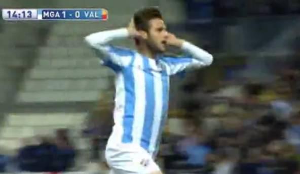 Malaga je pobijedila, Duje Čop zabio svoj sedmi gol u Primeri