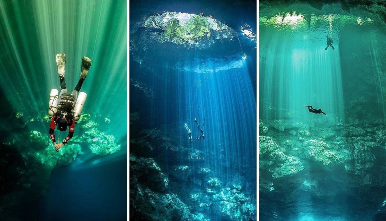 Zaronite u jednu od najljepših podvodnih špilja cijelog svijeta