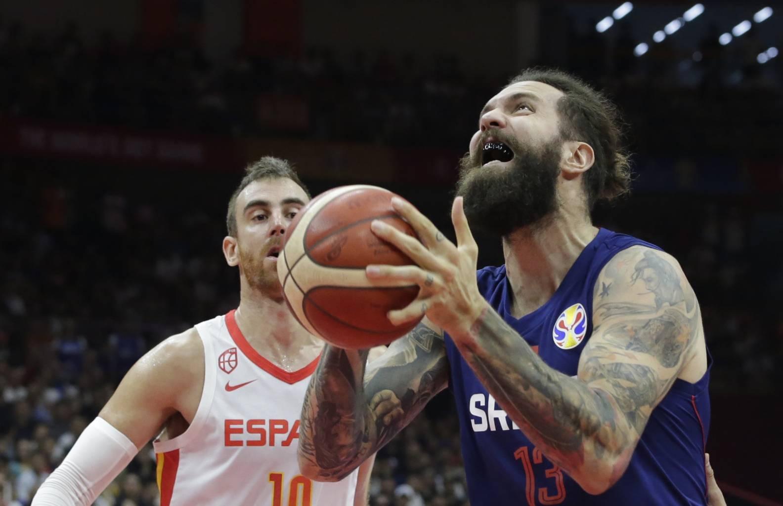 Basketball - FIBA World Cup - Second Round - Group J - Spain v Serbia