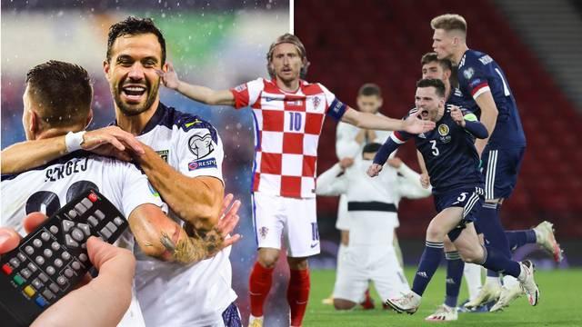 Na koga će Hrvatska? Evo gdje gledati susret Srbije i Škotske
