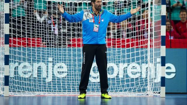 CRO, EHF EM, Herren, Slowenien vs Deutschland