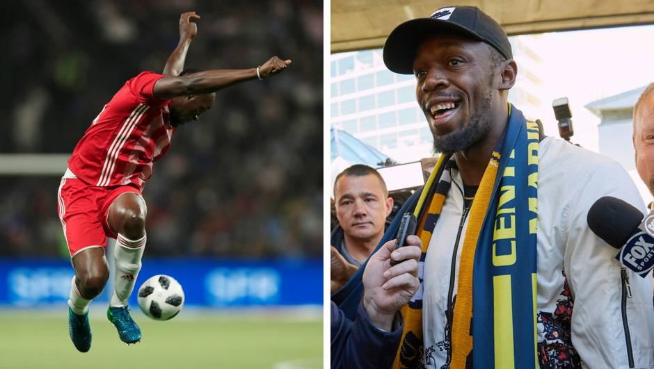 Bolt očajnički želi nogometnu karijeru: Odradio  prvi trening