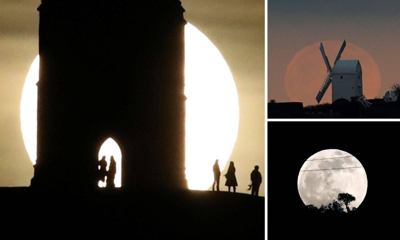 Krvavi vučji Mjesec: Ovakav je bio u svijetu i u - Delnicama!