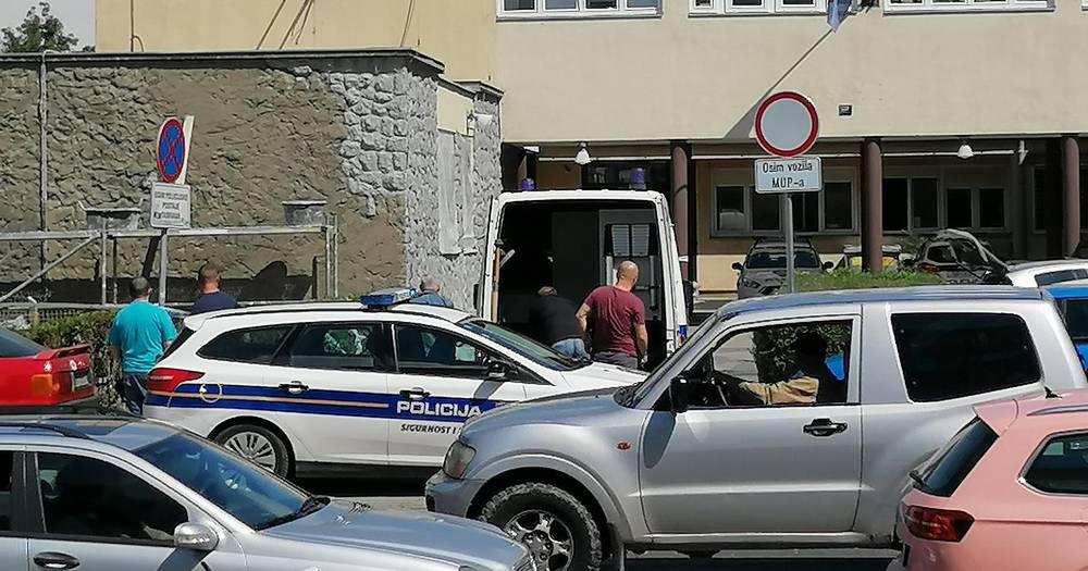 Dojava o bombi ispred postaje u Dubravi: Policija je sve ogradila