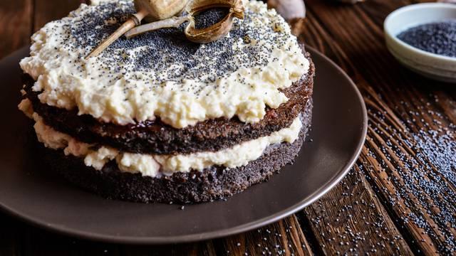 Torta od maka i mascarponea